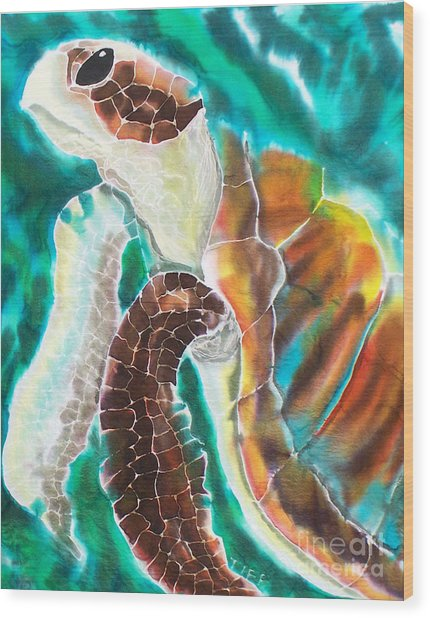Sunkissed Wood Print