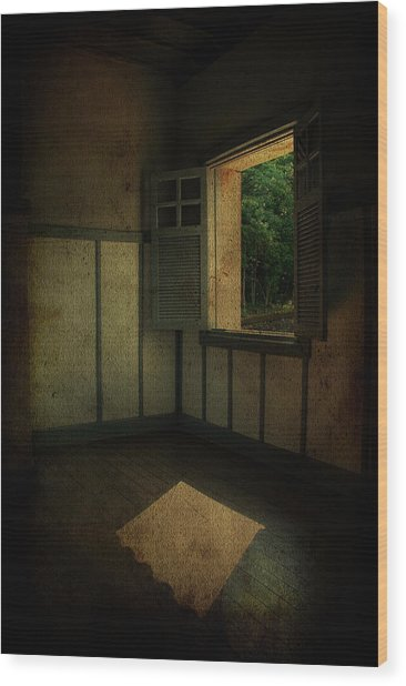 Sunlight Onto The Floor  Wood Print by Valmir Ribeiro