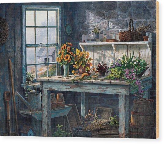 Sunlight Suite Wood Print