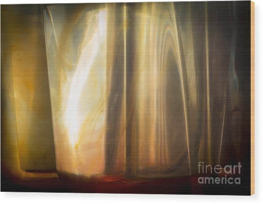 Sunny Abstract Wood Print