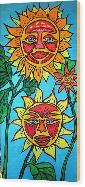 Sunny Wood Print