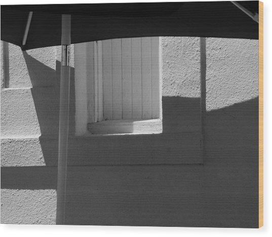 Sunnyside Shade Wood Print