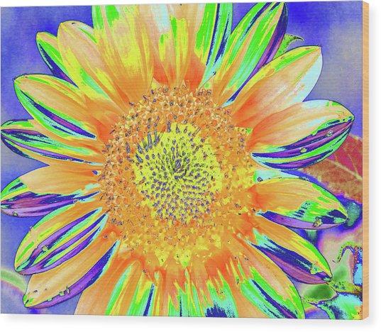 Sunrazzler Wood Print