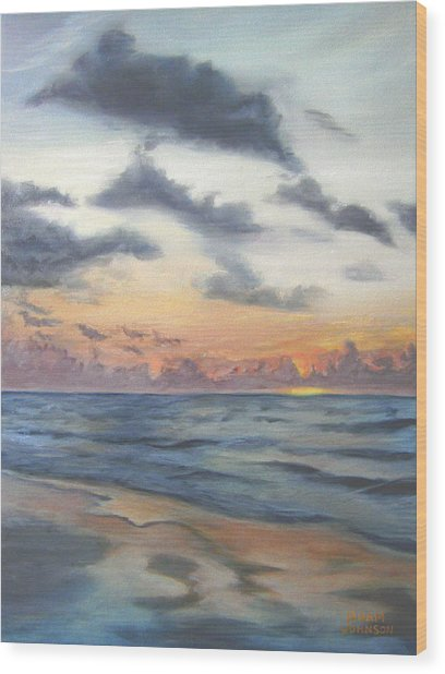 Sunrise 02 Wood Print