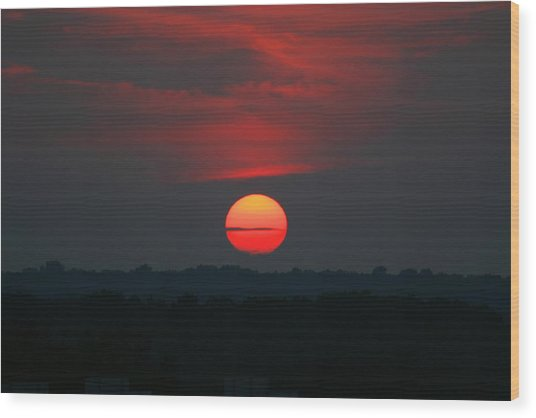 Sunrise 2 Wood Print