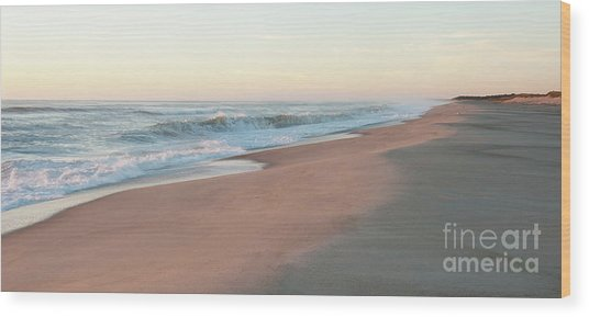 Sunrise At Nauset Wood Print