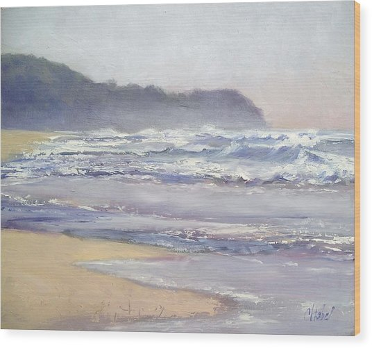 Sunrise Beach Sunshine Coast Queensland Australia Wood Print