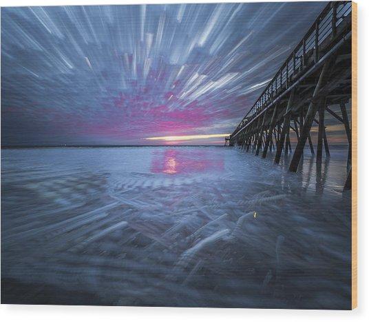 Sunrise Color Wood Print