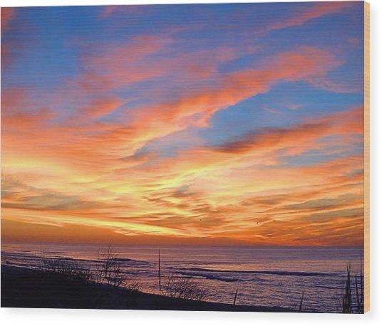 Sunrise Dune I I I Wood Print