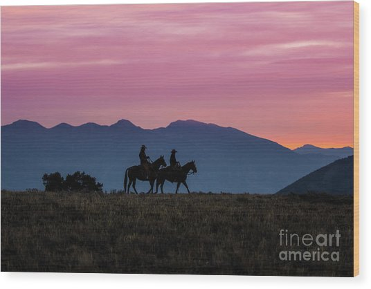 Sunrise In The Lost River Range Wild West Photography Art By Kay Wood Print