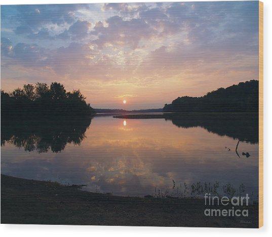 Sunrise Morning Bliss 152b Wood Print