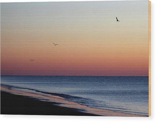 Sunrise On Hilton Head Wood Print