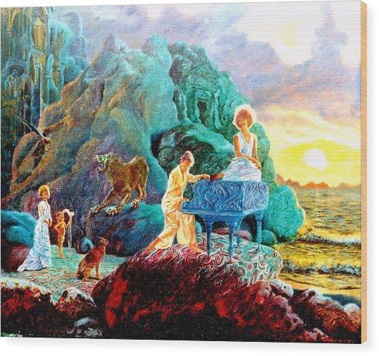 Sunrise Sonata Wood Print