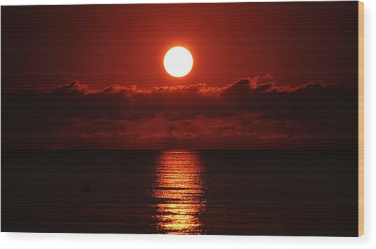 Sunrise Spotlight Delray Beach Florida Wood Print