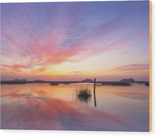 Sunrise Sunset Art Photo - I Belong Wood Print