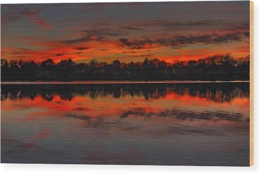 Sunset #1 Wood Print