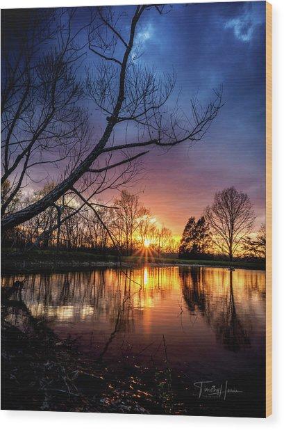 Sunset #10 Wood Print