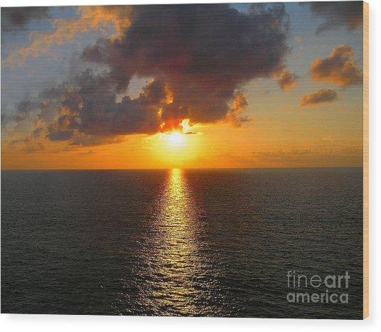 Sunset 3 Wood Print