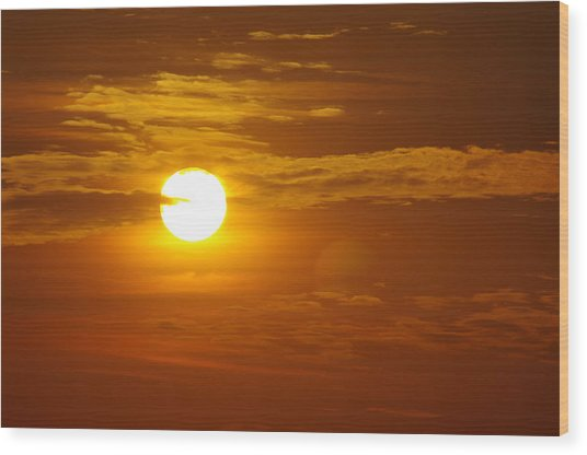 Sunset 4 Wood Print by Don Prioleau