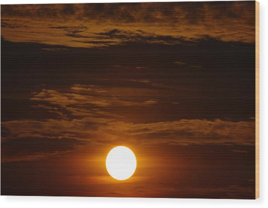 Sunset 5 Wood Print by Don Prioleau