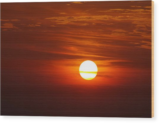 Sunset 8 Wood Print by Don Prioleau