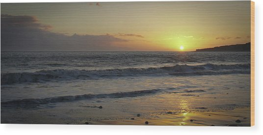 Sunset At Barry Wood Print