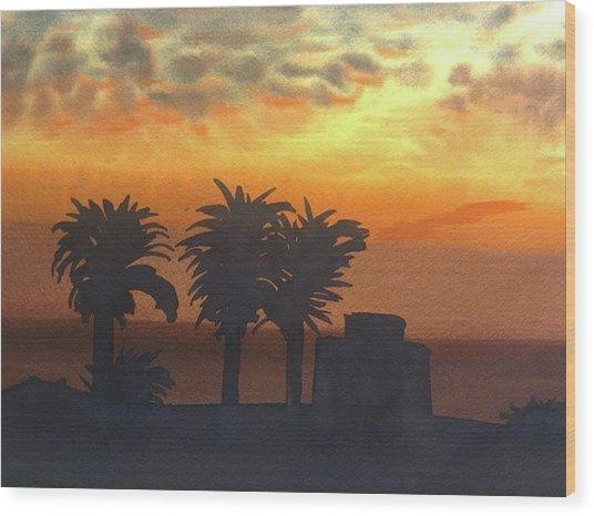 Sunset At Laguna Wood Print by John DiMare