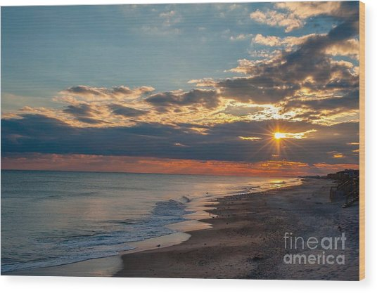 Outer Banks Obx Wood Print
