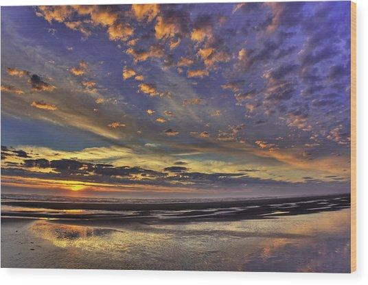 Sunset Paradise  Wood Print