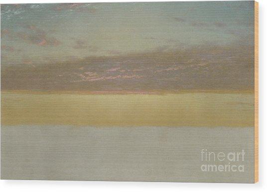 Sunset Sky, 1872 Wood Print