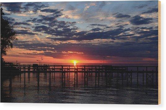 Sunset - South Carolina Wood Print