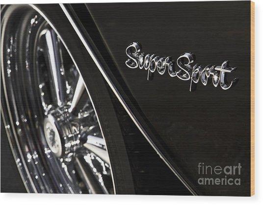 Super Sport Wood Print