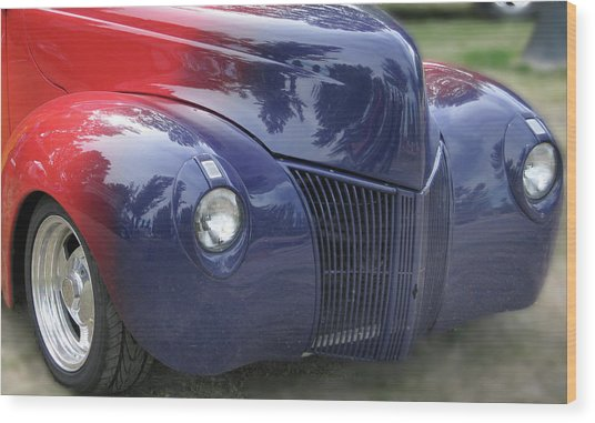 Superman's Car Wood Print