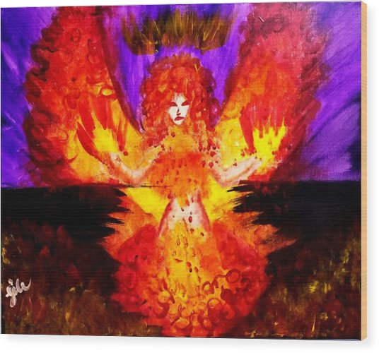 Supreme Seraphim  Wood Print