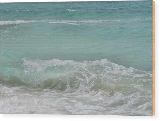 Surf Wood Print by JAMART Photography