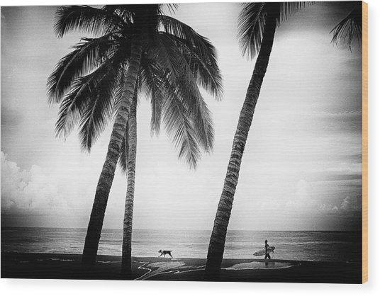 Surf Mates Wood Print