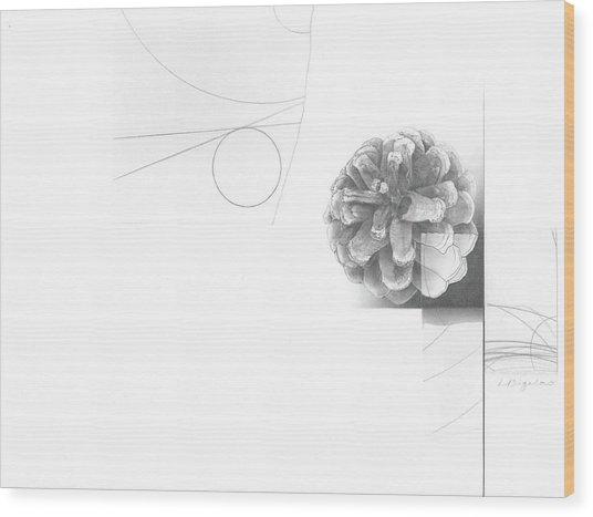 Surface No. 2 Wood Print