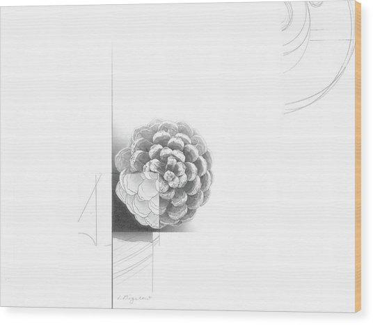 Surface No. 1 Wood Print