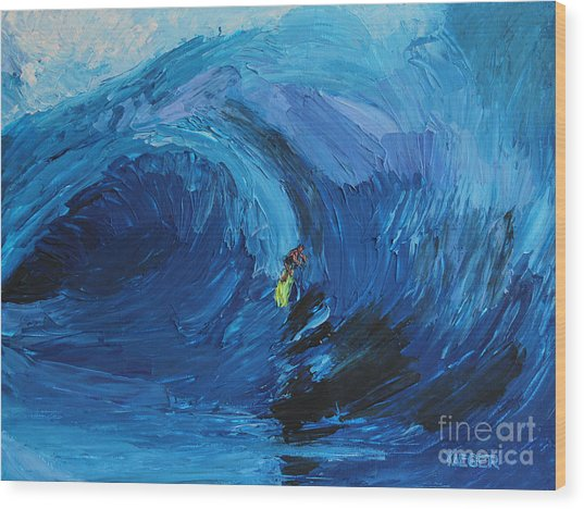 Surfing 6967 Wood Print