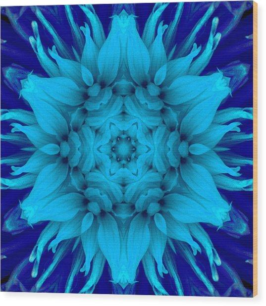Surreal Flower No. 5 Wood Print