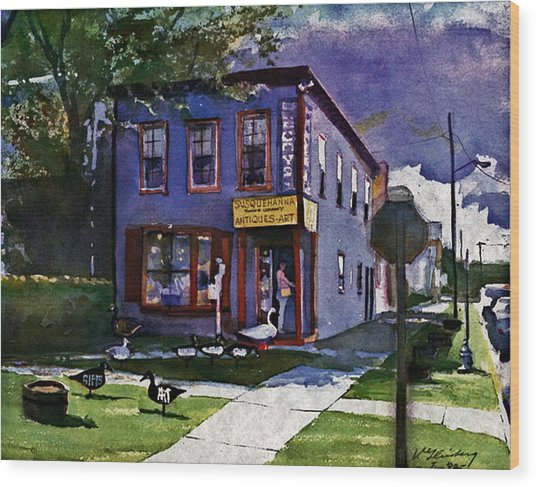 Susquehanna Trading Company Wood Print