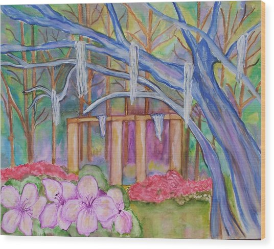Suzana Wood Print