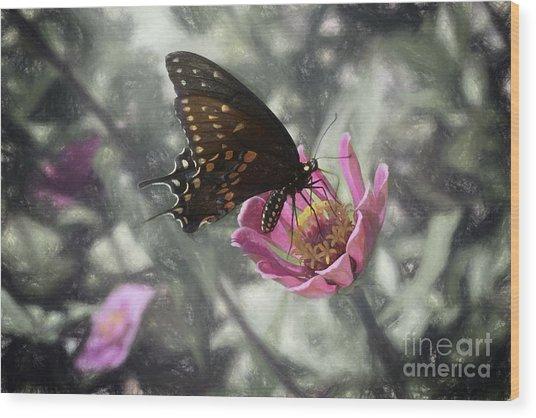 Swallowtail In A Fairytale Wood Print