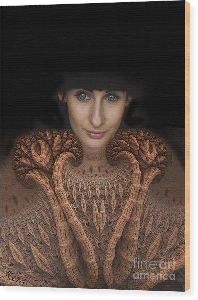 Sweater Girl Wood Print