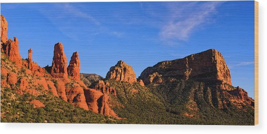 Sweeping Sedona Wood Print
