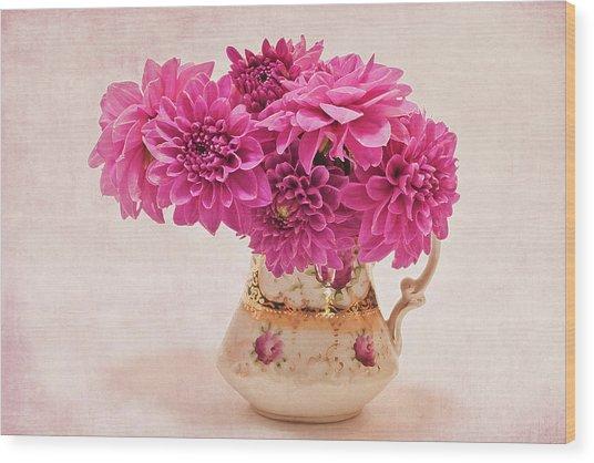 Sweet Blossoms Wood Print