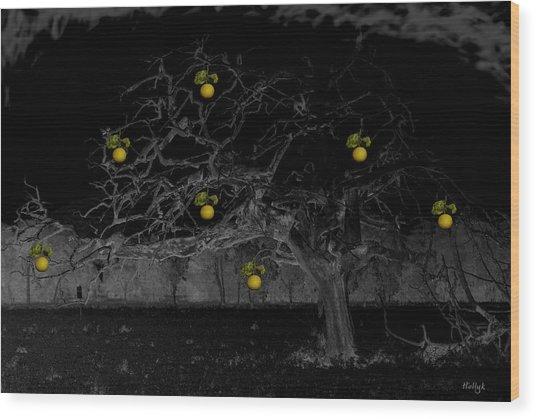 Sweet Fruit Wood Print