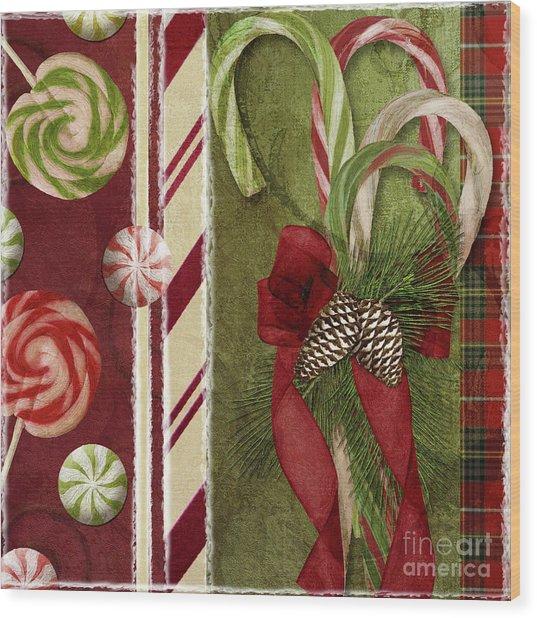 Sweet Holiday I Wood Print