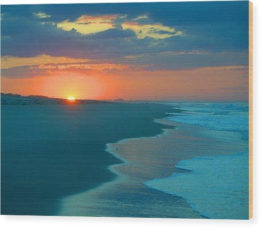 Sweet Sunrise Wood Print