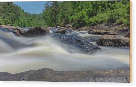 Sweetwater Creek Long Exposure Wood Print
